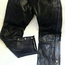 Harley Davidson Leather Pants - Competition Ii Touring Size 38/34 Flaw Photo