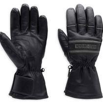 Harley-Davidson Men's Illumination Gauntlet Leather Gloves 98213-13vm Photo