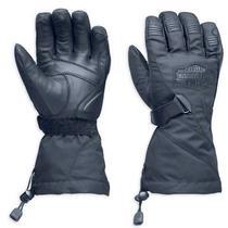 Harley-Davidson Men's Passing Link Waterproof Gauntlet Gloves 98305-14vm Photo