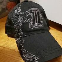 Harley-Davidson Mens Willie G Skull Shield Patch Black Baseball Cap 99492-17vm Photo