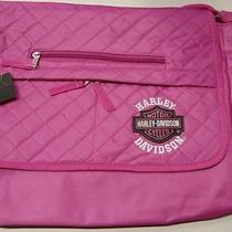 Harley Davidson Messenger / Computer Bag in Pink Photo