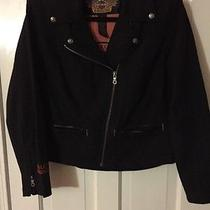 Harley Davidson Motor Clothes Women Form Fitting Bike Jacket-Small Photo