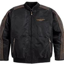 Harley Davidson  Nylon Motorcycle Jacket Photo