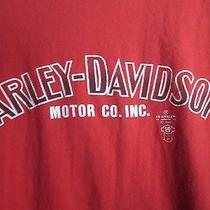 Harley-Davidson Washington Bent Bike Lynwood & Auburn T-Shirt M Photo