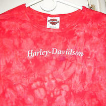 Harley Davidson Women's 3/4 Sleeve Top Photo