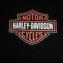 Harley Davidson Women's Black Harley Davidson Tshirt Indianapolis Size Small Photo