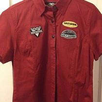 Harley-Davidson Women's Xl Workshirt Red Photo