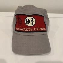 Harry Potter Hogwarts Express Conductor's Hat Cap Platform 9 3/4 Child Size Photo
