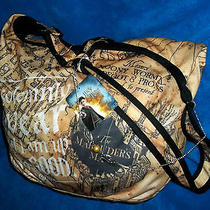 Harry Potter Marauder's Map I Solemnly Swear Hobo Bag  Snitch Necklace Photo