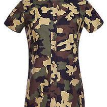 Harvey Faircloth Cotton Camouflage Shirt Photo