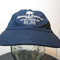 Hat Cap Tommy Bahama Ultra Premium Rum Pocket Velcro Navy Blue Gift for Dad  Photo