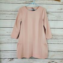 Hatch  Blush Pink Maternity 3/4 Sleeve Tunic Top Oversized Size 1 Small Photo