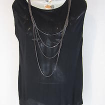 Haute Hippie Draped Back With Attached Necklaces New Sz M Photo