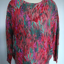 Haute Hippie Painted Strokes Pullover Size M Photo