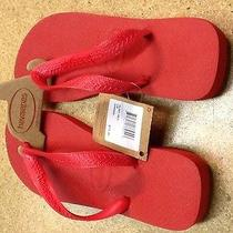 Havaiana Sandals Red Size 4/5 Flip Flops  Photo