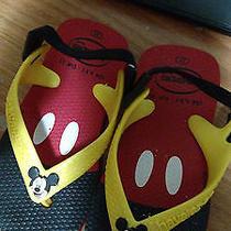Havaianas Baby Disney Classic Mickey Red/yellow - Usa 65 C Photo