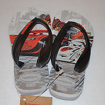 Havaianas Disney Kids Cars Sandals Size 10c- Brand New Photo