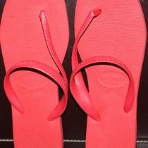 Havaianas Flash Red Size 10 Nwot Never Worn. Great Style Photo