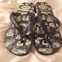 Havaianas Flip Flops Boys Size 1-2 Photo