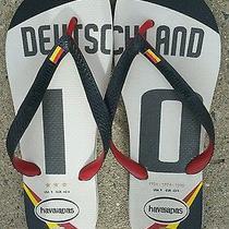 Havaianas Flip Flops Deutsche  Sz 9 Photo