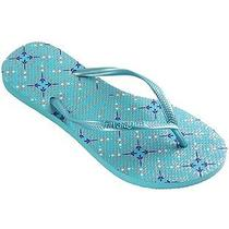 Havaianas Slim Trendy Ocean Green Size 9 Photo