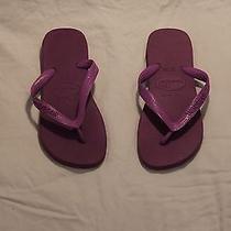 Havaianas Top Purple Flip Flops Photo
