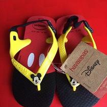 Havaianas Unisex Toddlers' Sandals With Back Strap (Mickey) Photo