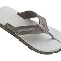 Havaianas Urban Gray Stone Men's Flip Flops Thongs Sandals Beach Wedding Shoes Photo