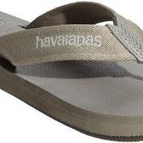 Havaianas Urban Gray Stone Sand Flip Flops Thongs Sandals Beach Wedding Shoes Photo