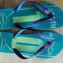 Havaianas Us 9 South Africa World Cup Flip-Flops Sandals Havianas 41/42 Eur 43/4 Photo