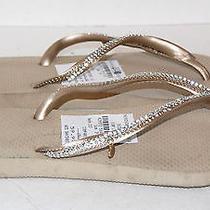 Havaianas Womens Beige Sandals Shoe Size 8 Photo
