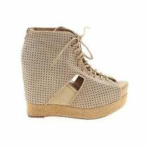 Havana Last Jeffrey Campbell Women Brown Wedges Us 8.5 Photo