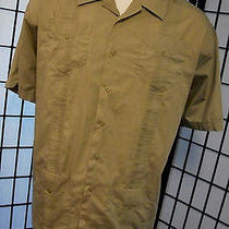 Havana Shirt Co Mens Cigar Lounge Retro Camp Barber Shop Vtg Mod Retro Shirt 3xl Photo