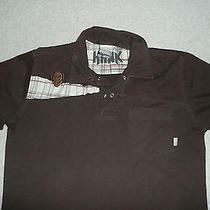 Hawk Brown Polo Shirt  Good Condition  Boy's L O Element Dc Shoes Hurley Photo