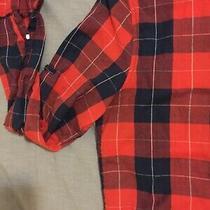 Hawkings Mcgill Mens Shirt Red Blue S Urban Outfitters J Crew Gap Photo