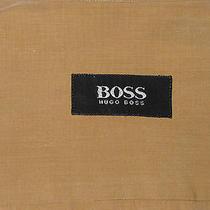 Hb7849 Hugo Boss Tan High End Cotton Dress Shirt Photo