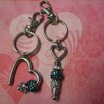 Heart and Key  Key Chains for Couples Sisters or Friends Gift Photo