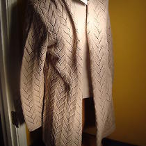 Heather B Womens Long Cardigan Sweater Gray 2xl New With Tags Photo