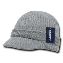 Heather Gray Visor Beanie Jeep Cap Gi Watch Hat Caps Photo