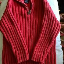 Heavy Red Sweater Gap Size 4 Photo