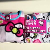 Hello Kitty 2-Pc Fleece Pajama Set for Girls Gift Set Inc. Bday Card & Gift Bag Photo