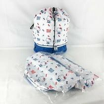 Hello Kitty 2way Backpack Shoulder Bag School Purse White Sanrio 3 Pieces Set Photo