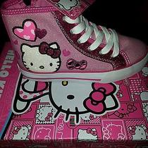 Hello Kitty Alexis Girls High Tops Photo