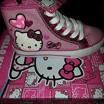 Hello Kitty Alexis Girls High Tops Photo