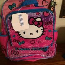 Hello Kitty Back Pack With Lunch Box Nwt 19.99 Photo