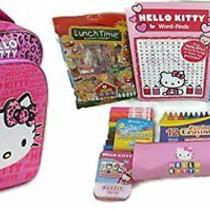 Hello Kitty Back to School Backpack Gift Set Photo