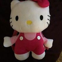 Hello Kitty Backpack - Adorable Plush  Photo