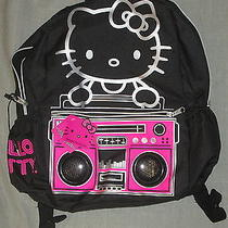 Hello Kitty Backpack Dual Amplified Speakers Sanrio Fab Starpoint Nwt Authentic Photo