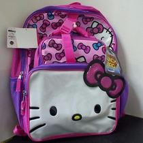 Hello Kitty Backpack With Lunch Gag Photo