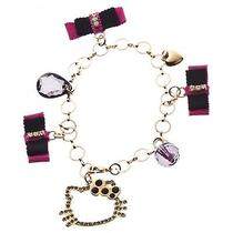 Hello Kitty Bangle Bracelet Wristband Bag Charm Sanrio From Japan Gift B2384 Photo